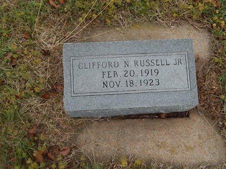 RUSSELL, CLIFFORD N JR - Kay County, Oklahoma | CLIFFORD N JR RUSSELL - Oklahoma Gravestone Photos