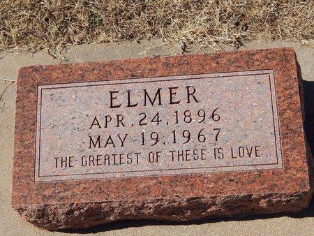 SAWYER, ELMER - Kay County, Oklahoma | ELMER SAWYER - Oklahoma Gravestone Photos