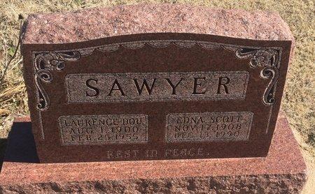 SAWYER, EDNA - Kay County, Oklahoma | EDNA SAWYER - Oklahoma Gravestone Photos