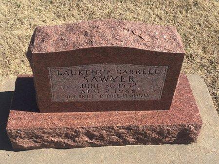 SAWYER, LAURENCE DARRELL - Kay County, Oklahoma | LAURENCE DARRELL SAWYER - Oklahoma Gravestone Photos