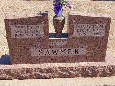 SAWYER, DOROTHY M - Kay County, Oklahoma | DOROTHY M SAWYER - Oklahoma Gravestone Photos