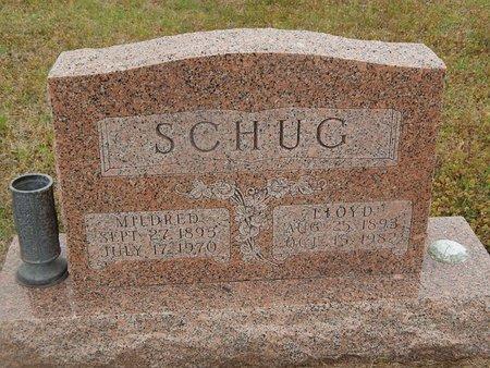 SCHUG, MILDRED - Kay County, Oklahoma | MILDRED SCHUG - Oklahoma Gravestone Photos