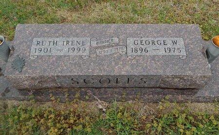 SCOLES, GEORGE W - Kay County, Oklahoma | GEORGE W SCOLES - Oklahoma Gravestone Photos