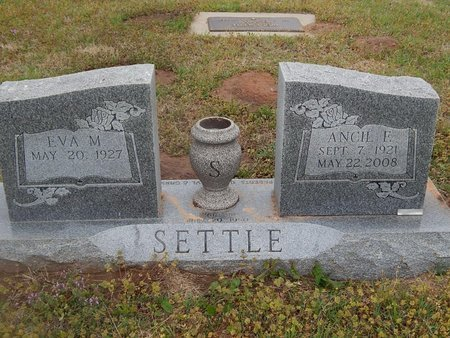SETTLE, ANCIL E - Kay County, Oklahoma | ANCIL E SETTLE - Oklahoma Gravestone Photos