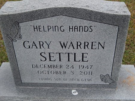 SETTLE, GARY WARREN - Kay County, Oklahoma | GARY WARREN SETTLE - Oklahoma Gravestone Photos