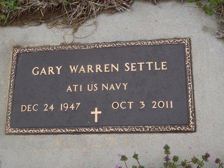 SETTLE (VETERAN), GARY WARREN - Kay County, Oklahoma   GARY WARREN SETTLE (VETERAN) - Oklahoma Gravestone Photos