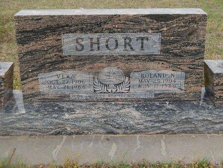 SHORT, ROLAND N - Kay County, Oklahoma | ROLAND N SHORT - Oklahoma Gravestone Photos