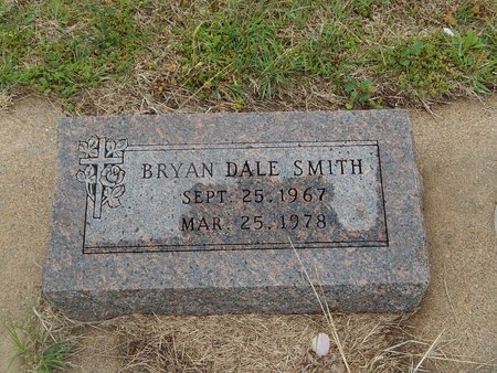 SMITH, BRYAN DALE - Kay County, Oklahoma | BRYAN DALE SMITH - Oklahoma Gravestone Photos