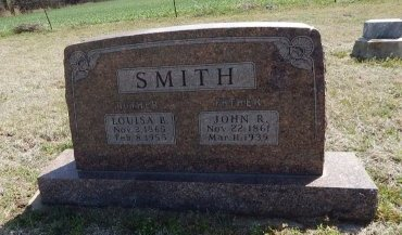 SMITH, JOHN R - Kay County, Oklahoma | JOHN R SMITH - Oklahoma Gravestone Photos