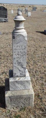 SMITH, ROXY A - Kay County, Oklahoma   ROXY A SMITH - Oklahoma Gravestone Photos
