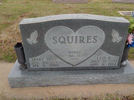 SQUIRES, MARY INEZ - Kay County, Oklahoma | MARY INEZ SQUIRES - Oklahoma Gravestone Photos