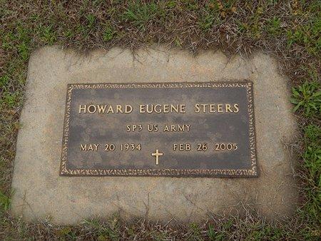 STEERS (VETERAN), HOWARD EUGENE - Kay County, Oklahoma | HOWARD EUGENE STEERS (VETERAN) - Oklahoma Gravestone Photos