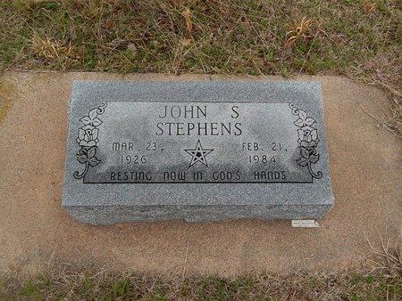 STEPHENS, JOHN S - Kay County, Oklahoma | JOHN S STEPHENS - Oklahoma Gravestone Photos
