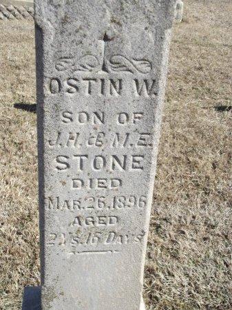 STONE, OSTIN W (CLOSE-UP) - Kay County, Oklahoma | OSTIN W (CLOSE-UP) STONE - Oklahoma Gravestone Photos