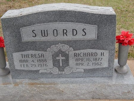SWORDS, RICHARD H - Kay County, Oklahoma | RICHARD H SWORDS - Oklahoma Gravestone Photos