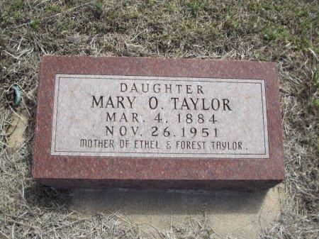 TAYLOR, MARY O - Kay County, Oklahoma | MARY O TAYLOR - Oklahoma Gravestone Photos