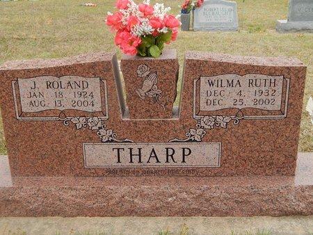 THARP, J ROLAND - Kay County, Oklahoma | J ROLAND THARP - Oklahoma Gravestone Photos