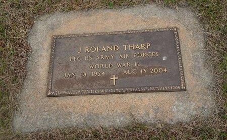 THARP (VETERAN WWII), J ROLAND - Kay County, Oklahoma   J ROLAND THARP (VETERAN WWII) - Oklahoma Gravestone Photos