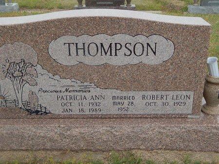 THOMPSON, PATRICIA ANN - Kay County, Oklahoma | PATRICIA ANN THOMPSON - Oklahoma Gravestone Photos