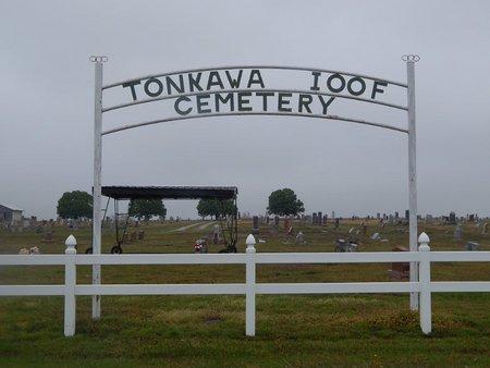 *TONKAWA I00F CEMETERY SIGN, . - Kay County, Oklahoma | . *TONKAWA I00F CEMETERY SIGN - Oklahoma Gravestone Photos
