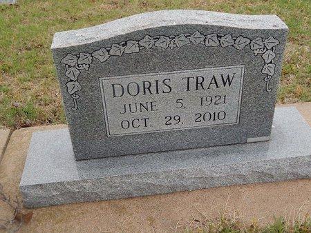 TRAW, DORIS - Kay County, Oklahoma | DORIS TRAW - Oklahoma Gravestone Photos