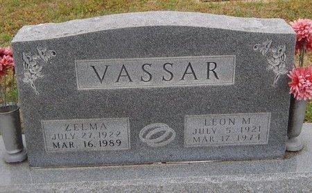 VASSAR, LEON M - Kay County, Oklahoma | LEON M VASSAR - Oklahoma Gravestone Photos