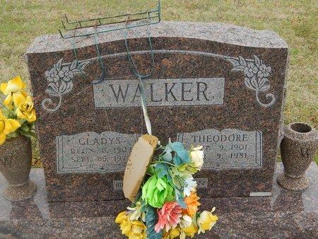 WALKER, GLADYS - Kay County, Oklahoma   GLADYS WALKER - Oklahoma Gravestone Photos