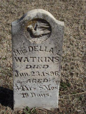 WATKINS, DELLA L - Kay County, Oklahoma | DELLA L WATKINS - Oklahoma Gravestone Photos