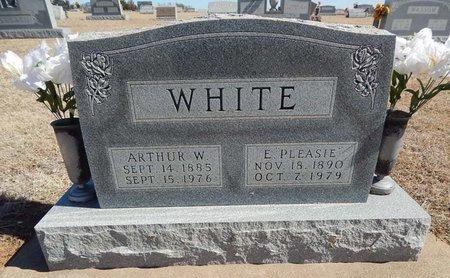 WHITE, ARTHUR W - Kay County, Oklahoma | ARTHUR W WHITE - Oklahoma Gravestone Photos