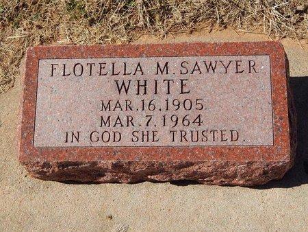 WHITE, FLOTELLA M - Kay County, Oklahoma | FLOTELLA M WHITE - Oklahoma Gravestone Photos