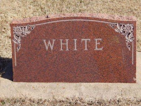WHITE, FAMILY MARKER - Kay County, Oklahoma | FAMILY MARKER WHITE - Oklahoma Gravestone Photos