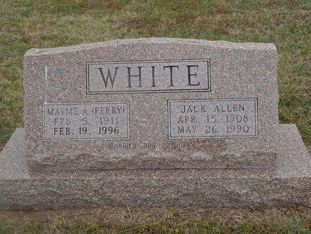 PERRY WHITE, MAYME A - Kay County, Oklahoma | MAYME A PERRY WHITE - Oklahoma Gravestone Photos