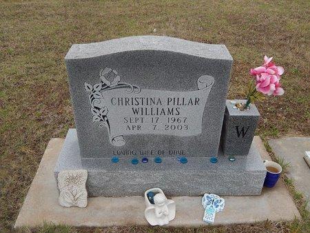 WILLIAMS, CHRISTINA - Kay County, Oklahoma   CHRISTINA WILLIAMS - Oklahoma Gravestone Photos