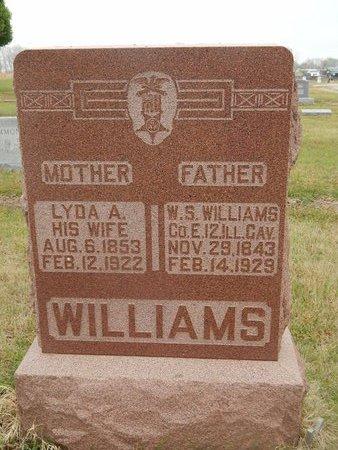 WILLIAMS, LYDA A - Kay County, Oklahoma | LYDA A WILLIAMS - Oklahoma Gravestone Photos