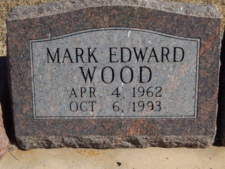 WOOD, MARK EDWARD - Kay County, Oklahoma | MARK EDWARD WOOD - Oklahoma Gravestone Photos