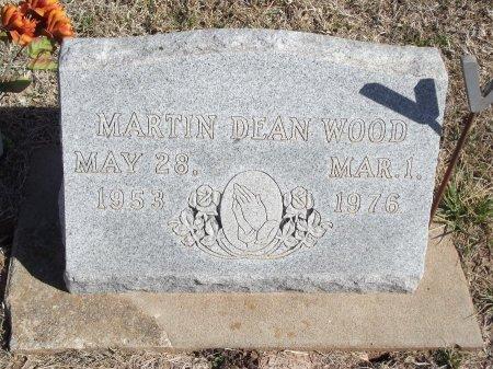 WOOD, MARTIN DEAN - Kay County, Oklahoma | MARTIN DEAN WOOD - Oklahoma Gravestone Photos