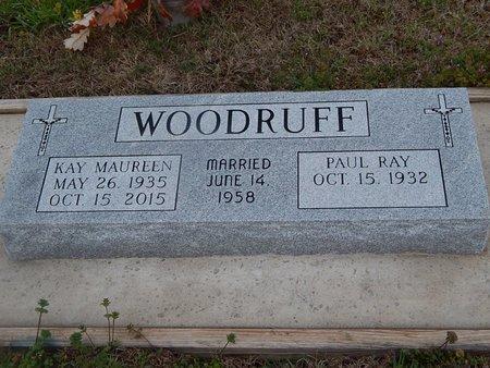 WOODRUFF, KAY MAUREEN - Kay County, Oklahoma | KAY MAUREEN WOODRUFF - Oklahoma Gravestone Photos
