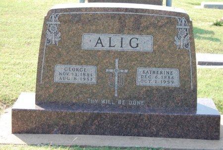 OTTIS ALIG, KATHERINE ANN - Kingfisher County, Oklahoma   KATHERINE ANN OTTIS ALIG - Oklahoma Gravestone Photos