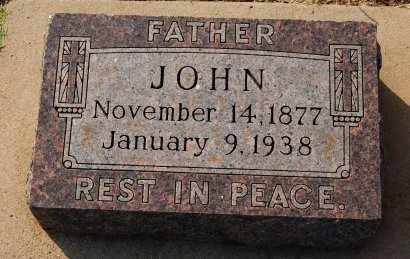 ALIG, JOHN - Kingfisher County, Oklahoma   JOHN ALIG - Oklahoma Gravestone Photos