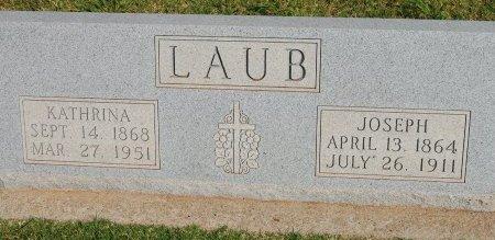 LAUB, JOSEPH - Kingfisher County, Oklahoma | JOSEPH LAUB - Oklahoma Gravestone Photos