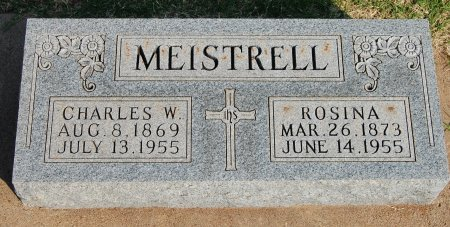 MEISTRELL, CHARLES WILLIAM - Kingfisher County, Oklahoma | CHARLES WILLIAM MEISTRELL - Oklahoma Gravestone Photos