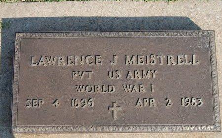 MEISTRELL, LAWRENCE JOSEPH - Kingfisher County, Oklahoma | LAWRENCE JOSEPH MEISTRELL - Oklahoma Gravestone Photos