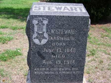 STEWART, J. W. - Kingfisher County, Oklahoma | J. W. STEWART - Oklahoma Gravestone Photos