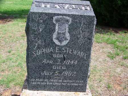 STEWART, SOPHIA E. - Kingfisher County, Oklahoma | SOPHIA E. STEWART - Oklahoma Gravestone Photos