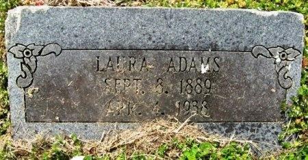 ADAMS, LAURA - Latimer County, Oklahoma | LAURA ADAMS - Oklahoma Gravestone Photos