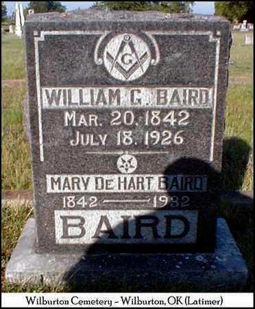 BAIRD, WILLIAM GRAHAM - Latimer County, Oklahoma | WILLIAM GRAHAM BAIRD - Oklahoma Gravestone Photos