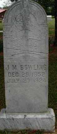 BOWLING, JAMES MADISON - Latimer County, Oklahoma | JAMES MADISON BOWLING - Oklahoma Gravestone Photos