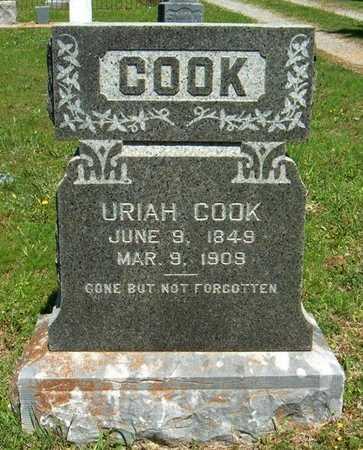 COOK, URIAH - Latimer County, Oklahoma   URIAH COOK - Oklahoma Gravestone Photos