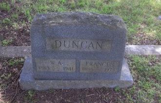 DUNCAN, FRANCES  - Latimer County, Oklahoma | FRANCES  DUNCAN - Oklahoma Gravestone Photos