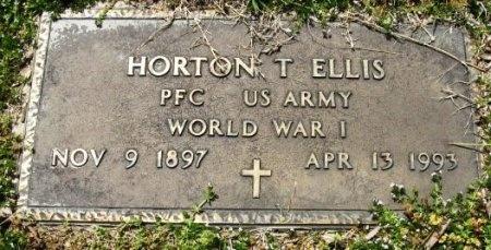 ELLIS, HORTON T (VETERAN WWI) - Latimer County, Oklahoma   HORTON T (VETERAN WWI) ELLIS - Oklahoma Gravestone Photos